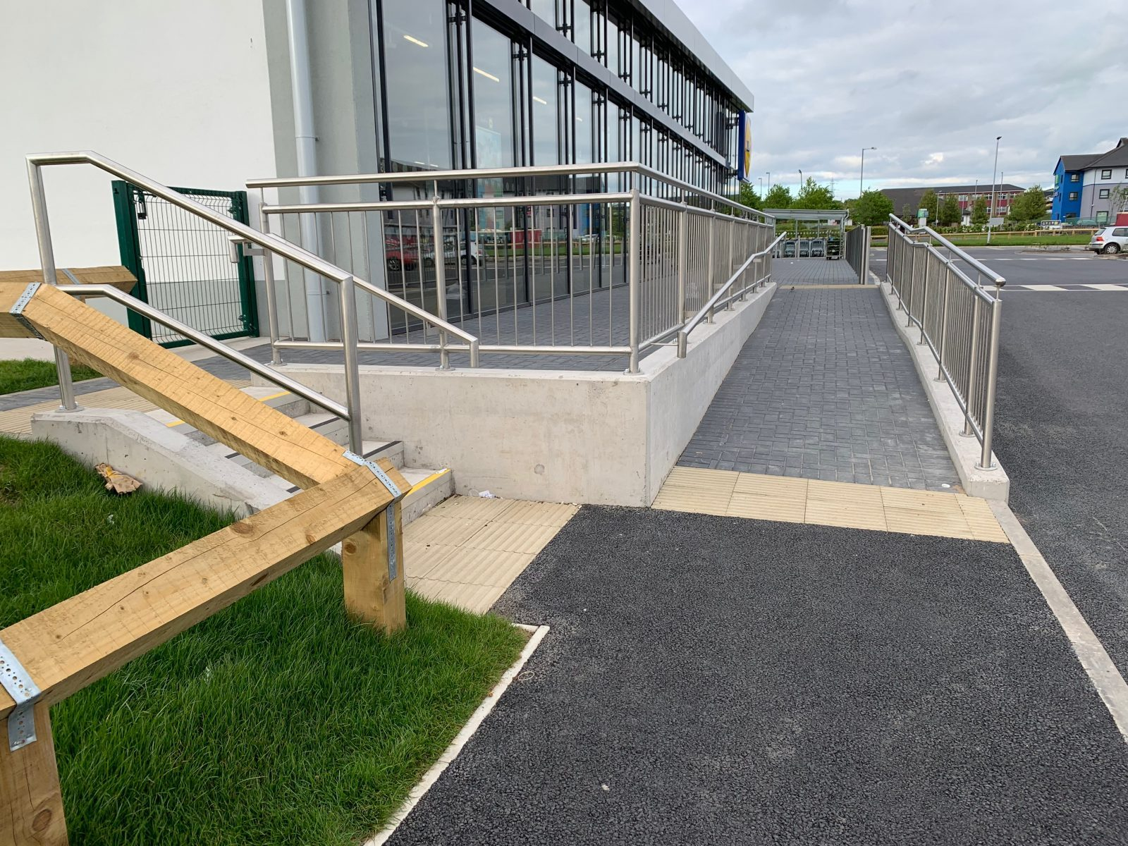 Steps and Ramp