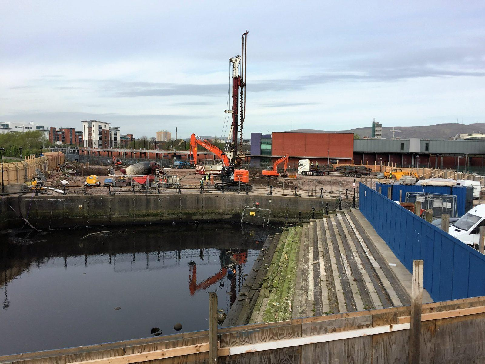 Allstate NI Piling commencing